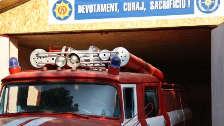 Pompierii vor interveni mai operativ în trei sate din raionul Cahul (video)