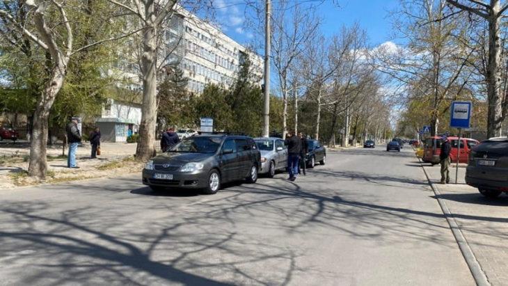 Accident în lanț la Cahul. Centrul orașului parțial blocat