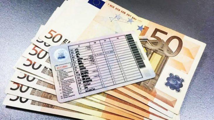 Un bărbat din Cahul a promis să favorizeze obținerea permisului de conducere, la preț de 350 de euro, dar a fost denunțat CNA