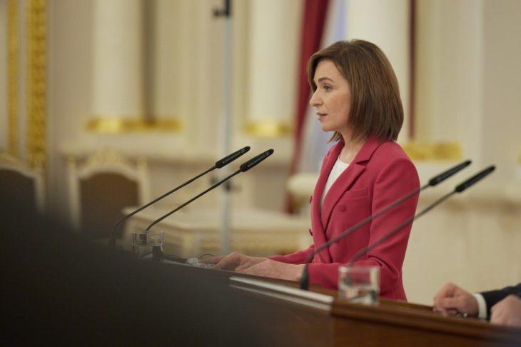 Preşedintele Maia Sandu a sesizat Curtea Constituțională în vederea dizolvării Parlamentului