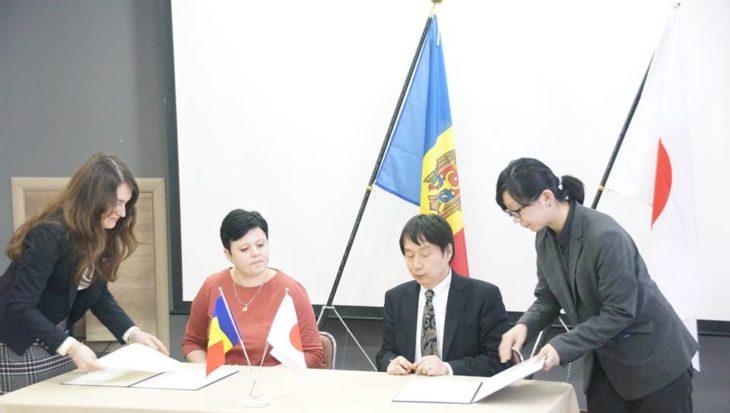 """Investiție japoneză în Școala de Arte """"M. Cebotari"""" din Cahul"""