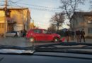 Accident la intersecția străzilor M. Frunze și B.P.Hasdeu