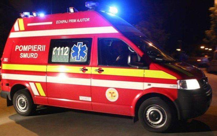 SMURD-ul solicitat să intervină la un accident rutier
