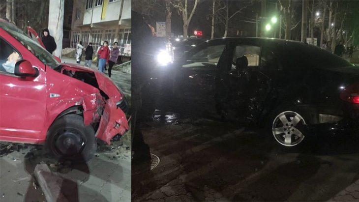 Un accident rutier s-a produs în Cahul în această seară