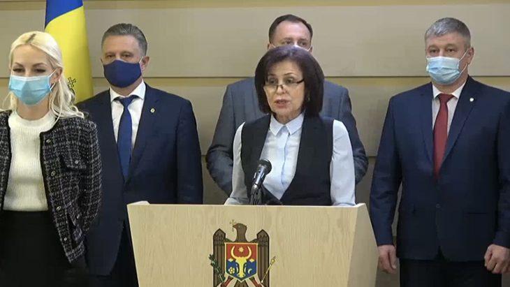 """Elena Bacalu din numele Platformei """"Pentru Moldova"""" îi cere Maiei Sandu să-l înainteze la funcția de premier pe Golovatiuc"""