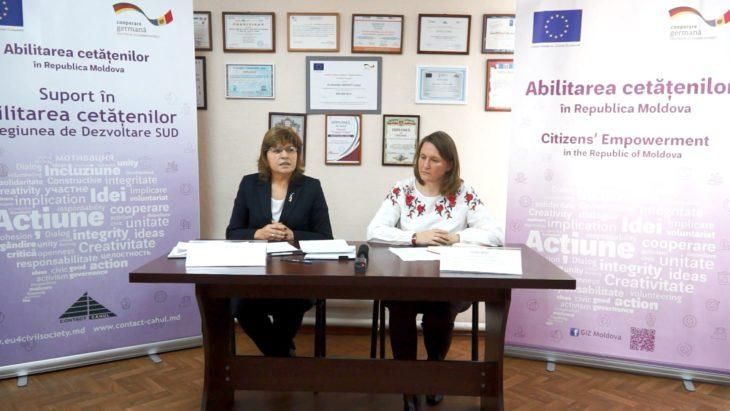 A fost lansat programul de granturi pentru OSC-urile din regiunea de SUD. Valoarea totală – 600 mii euro