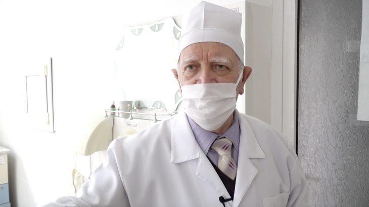 Ion Țugui – medicul de 78 de ani care s-a vaccinat
