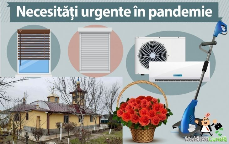 Priorități în an pandemic: reparația unui acoperiș de biserică, achiziționarea unei mașini de tuns iarbă, a parasolarelor și climatizatoarelor