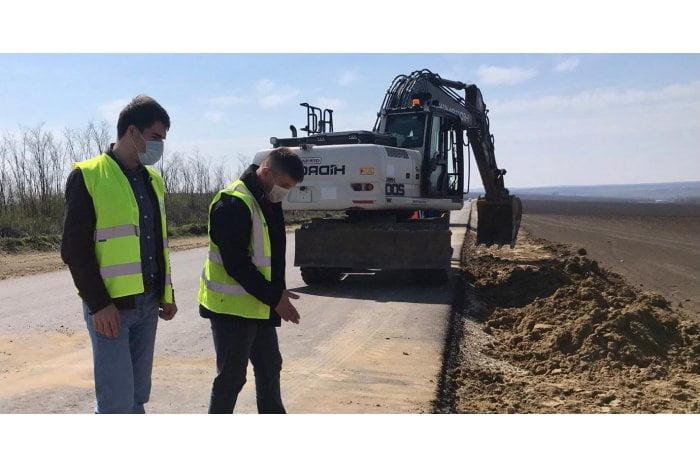 Construcția drumului de ocolire de la Comrat este îndeplinită în proporție de 40%