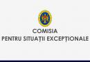 Comisia pentru Situații Excepționale a dispus mai multe prevederi cu aspect juridic