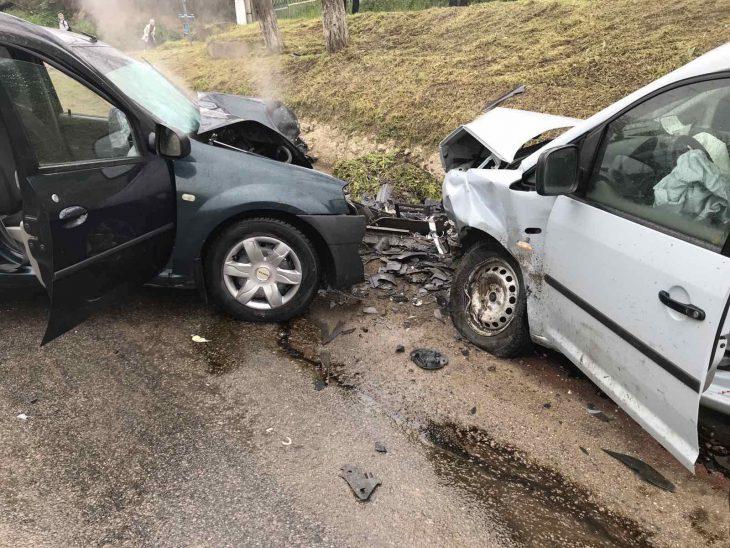 Accident grav în s. Crihana Veche // FOTO