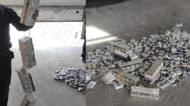 Șapte mii de țigarete, depistate la PFT Giurgiulești de câinele de serviciu Nero