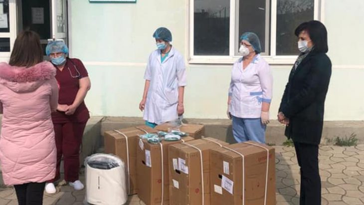 Spitalul Raional Cahul a primit 5 concentratoare de oxigen, oferite de deputata Elena Bacalu