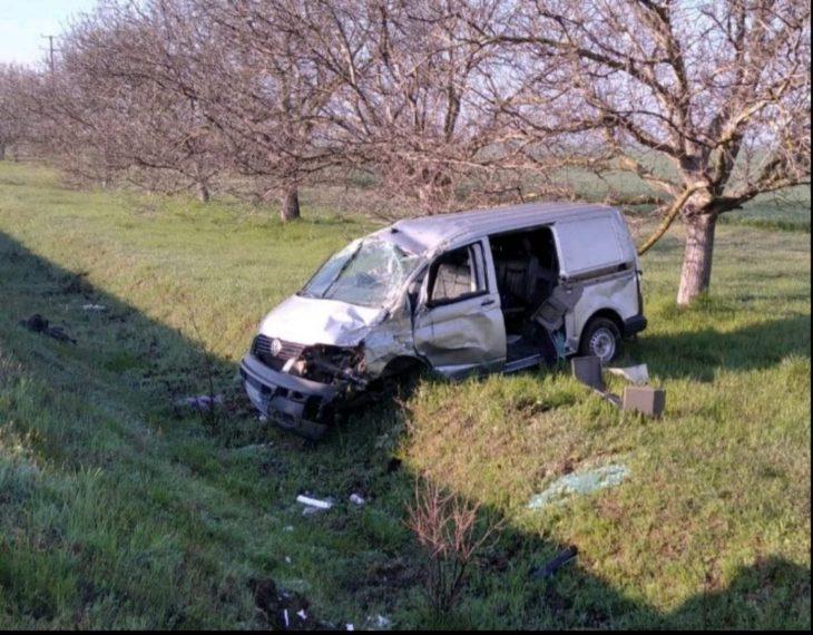 /FOTO/ Grav accident la Congaz. Patru persoane au ajuns la spital