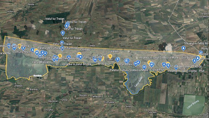 UE // Vezi online care sunt obiectivele turistice ale zonei Luncii Prutului de Jos