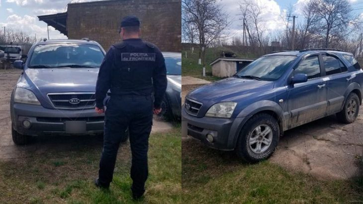 I-a pus numere moldovenești la o mașină adusă de peste hotare, acum riscă dosar penal