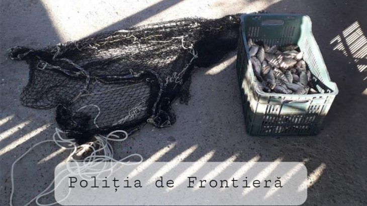 Doi bărbați originari din s. Manta – amendați pentru pescuit în apele de frontieră //VIDEO
