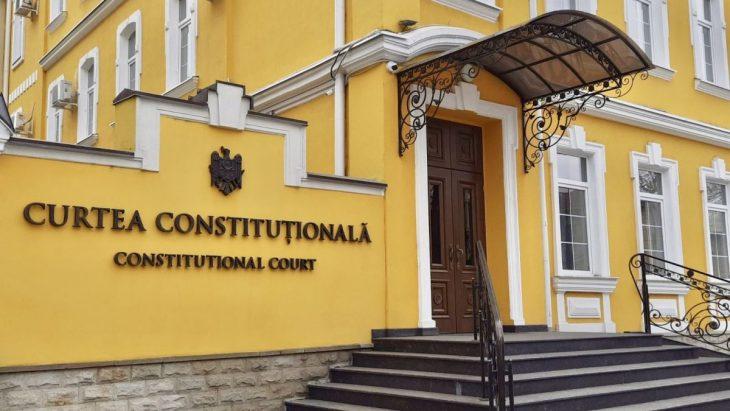 CC examinează astăzi sesizarea Maiei Sandu privind dizolvarea Parlamentului