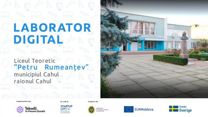 Laboratoare Digitale pentru 6 școli din Cahul pentru studierea profesiilor viitorului! Află în ce instituții de învățământ vor fi create