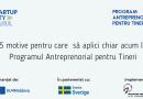 Creează propria afacere de la zero împreună cu EU4Moldova: Startup City Cahul