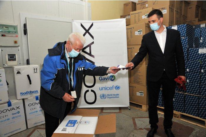 Încă 50.310 doze de vaccin Pfizer – BioNtech au fost livrate gratuit în Moldova