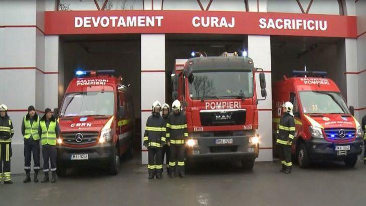 94 de misiuni au fost realizate de pompieri și salvatori de Paștele Blajinelor