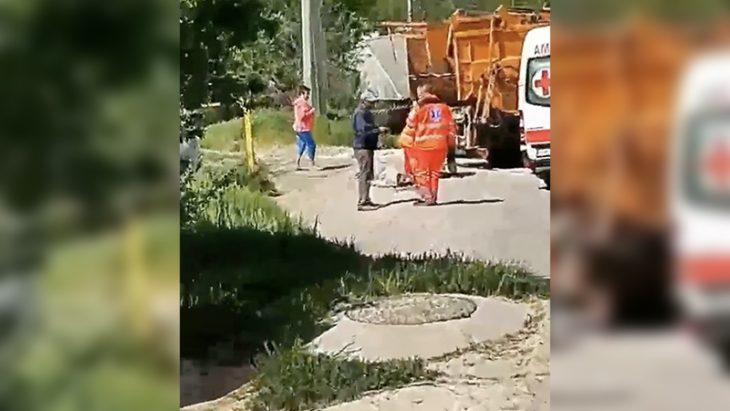 Cahul: Un bărbat fost strivit de autospeciala pe care lucra //VIDEO