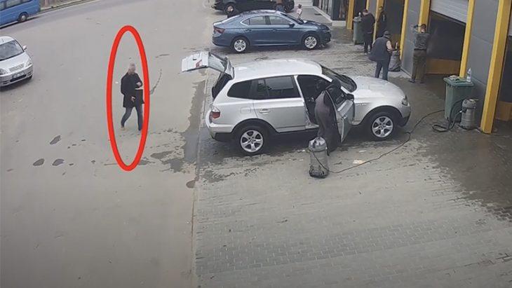 /VIDEO/ Magistratul raportor în dosarul lui Șor, suprins primind o pungă de la un avocat al deputatului fugar. Ce se afla în pachet, potrivit apărătorului