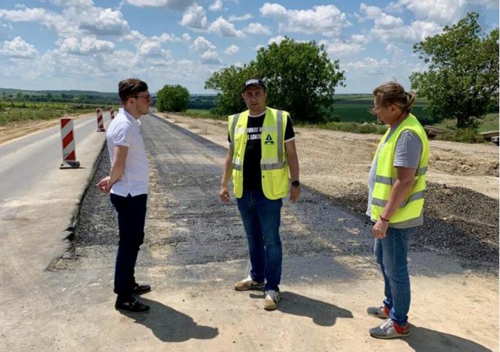 Drumul național M3 Chișinău-Giurgiulești este în proces de reabilitare