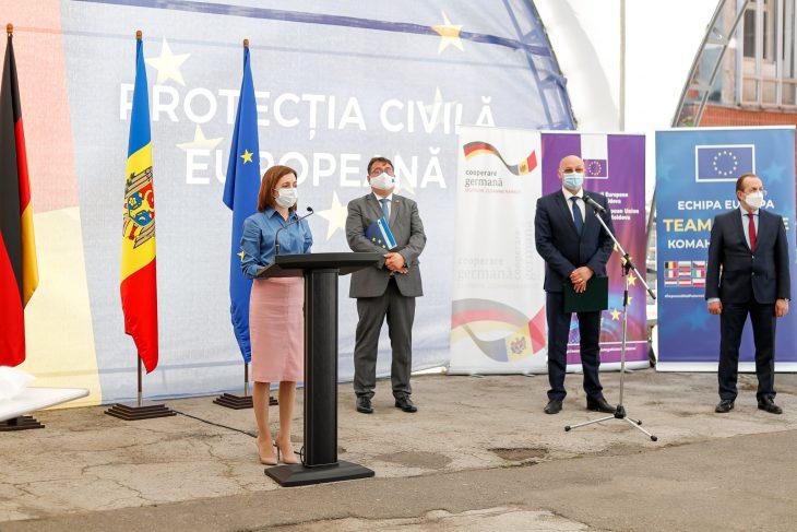 Republica Moldova a primit un lot de ajutor de peste 200 mln de lei din partea Germaniei, pentru lupta cu pandemia