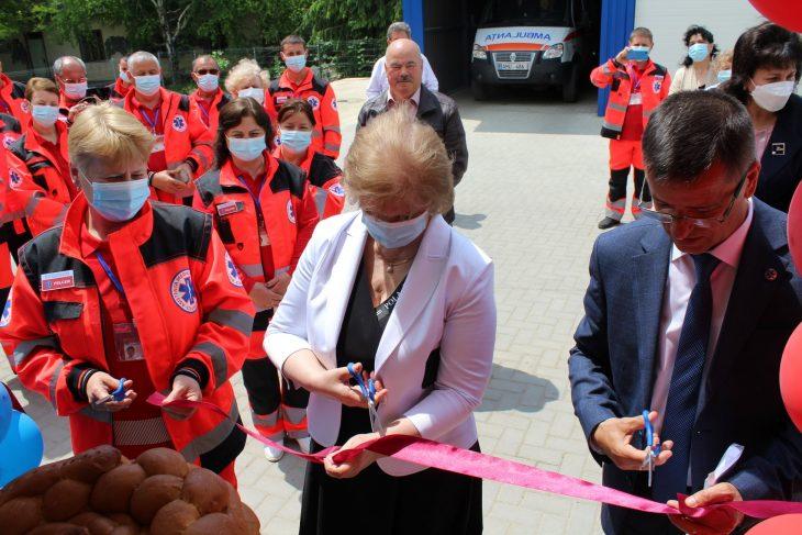 În raionul Leova s-a mai deschis un punct de Asistență Medicală Urgentă