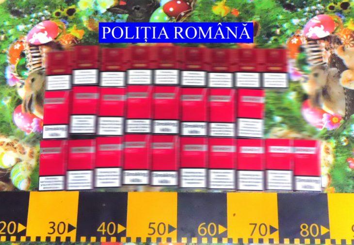 Trei persoane arestate la Galați pentru complicitate la contrabandă. Sute de pachete de țigări, zeci de litri de alcool și sume mari de bani – ridicați de polițiști