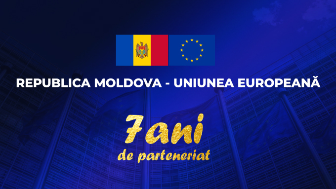 Republica Moldova marchează 7 ani de la semnarea Acordului de Asociere cu UE