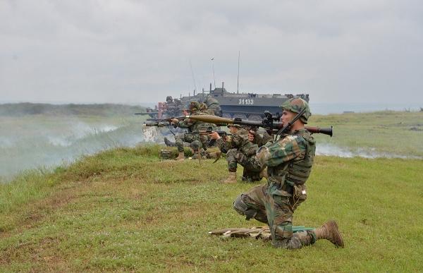 """Exerciţiu tactic cu trageri de luptă """"Fulger 2021″ la Cahul"""