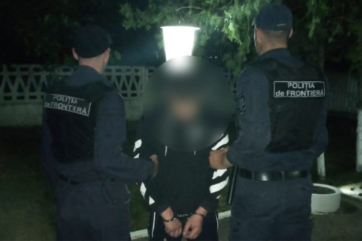 Un bărbat condamnat la închisoare, reținut noaptea de PF Cahul