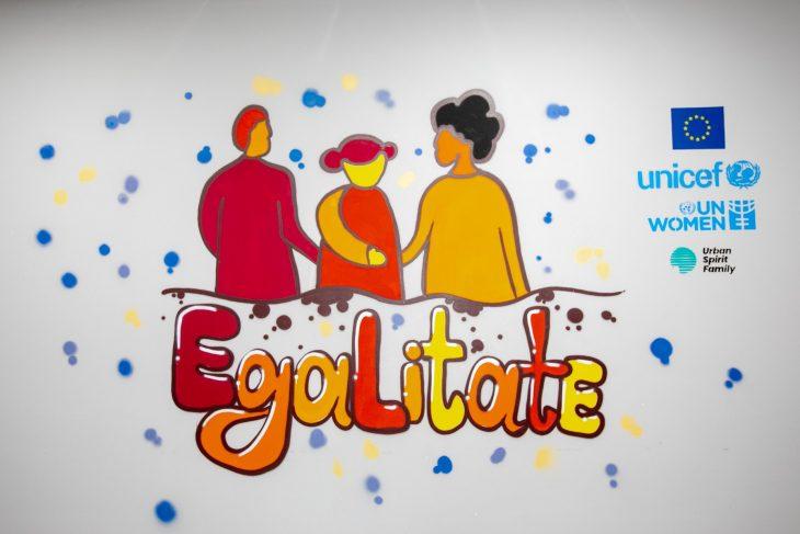 Picturi murale dedicate promovării egalității de gen și combaterii violenței împotriva fetelor și femeilor în raioanele Cahul și Ungheni