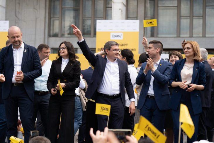 Igor Grosu: PAS e gata să numească un nou Guvern și să prezinte un plan de guvernare