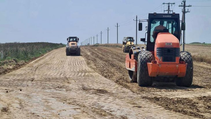 Drumul de ocolire a satului Slobozia Mare din raionul Cahul – construit în proporție de 26%