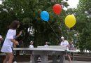 VIDEO// Diaspora contează! Patru mese pentru tenis au fost instalate în Parcul din Cahul