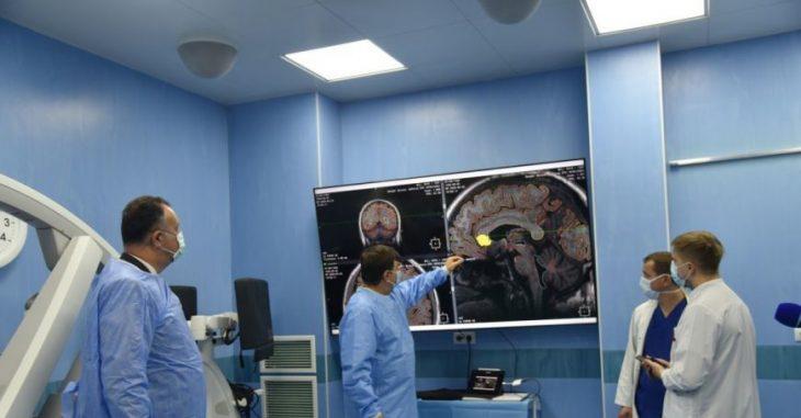 O intervenție chirurgicală, efectuată în premieră la Institutul de Neurologie si Neurochirurgie. Pacienta este din Cahul
