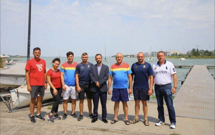Sportivi din Cahul în cantonament la Constanța