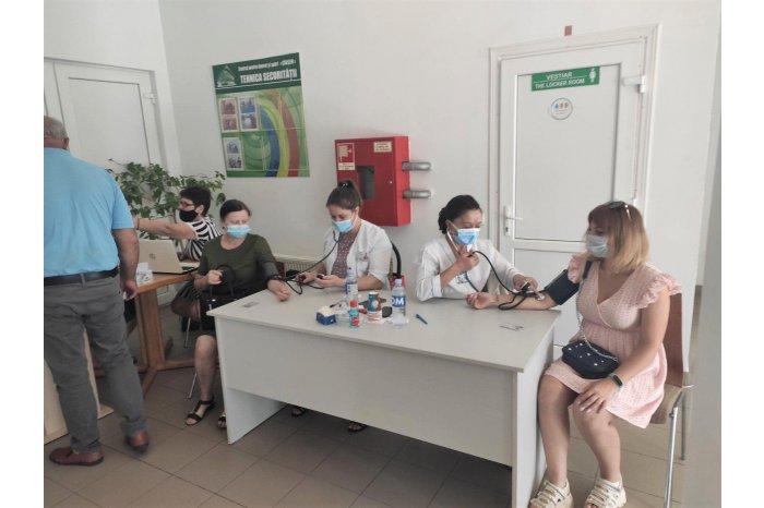 Peste 670 de persoane s-au vaccinat în cadrului maratonului de la Căușeni