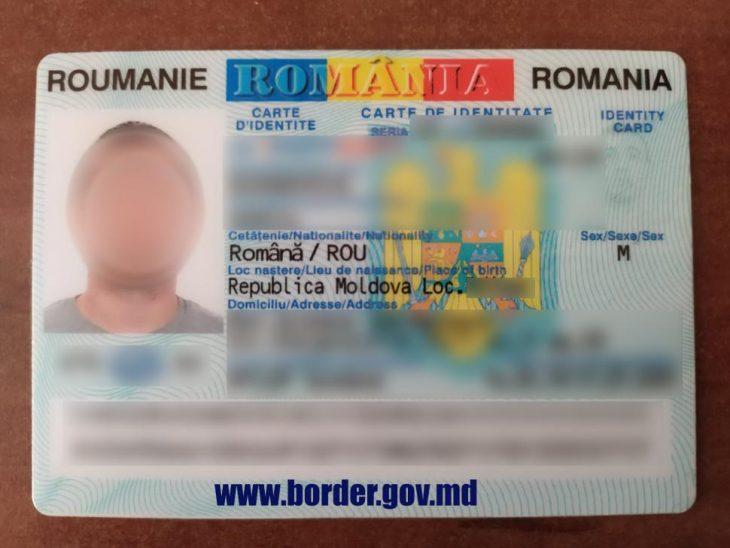 Un conațional a achitat 80 de euro pentru o carte de identitate românească neveridică