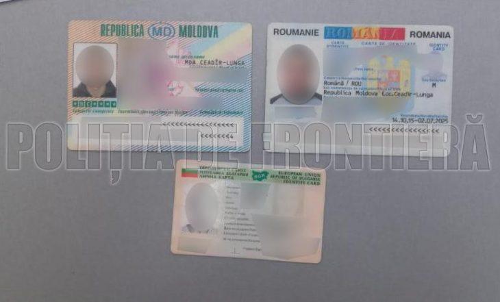 Trei documente falsificate, ascunse sub nișa pragului lateral al mașinii la frontiera din Cahul