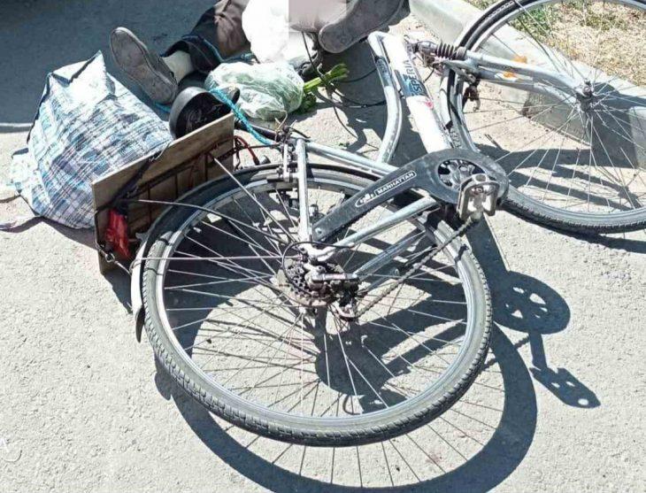 Un biciclist de 72 de ani de la Cahul a murit după ce a fost lovit de o mașină
