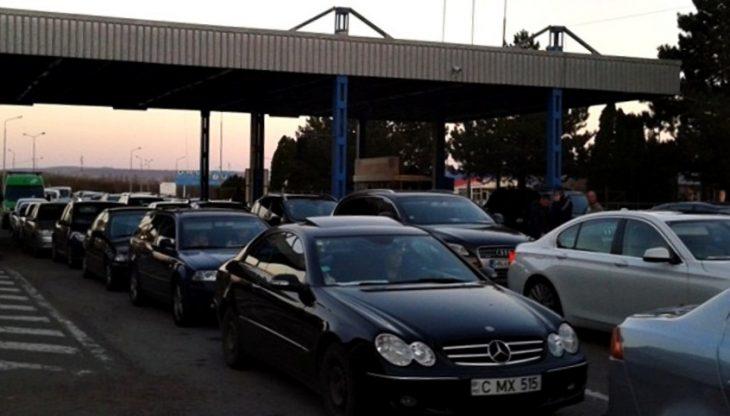 La punctele de trecere a frontierei Leușeni, Sculeni și Cahul se înregistrează astăzi trafic sporit pe ambele sensuri