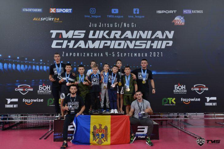 Sportivii din Cahul au venit cu 16 medalii de la campionatul de Jiu-Jitsu Brazilian din Ucraina