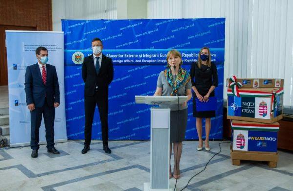 Ungaria și NATO a donat Republicii Moldova un lot de echipamente medicale în valoare de 1,4 milioane de euro