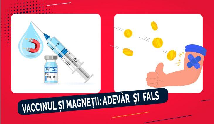 Unii oamenii cred că vaccinurile produc magnetizare, dar ignoră ce spune știința. De ce? Explicăm împreună cu specialiștii