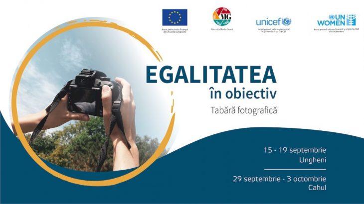 """Participă gratuit la tabăra fotografică """"Egalitatea în obiectiv"""" de la Cahul"""
